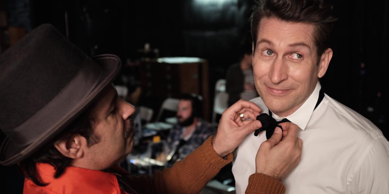 Comedy Bang Bang Behind the Scenes With Paul F. Tompkins and Scott Aukerman
