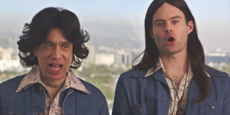 Fred Armisen and Bill Hader as Blue Jean Committee