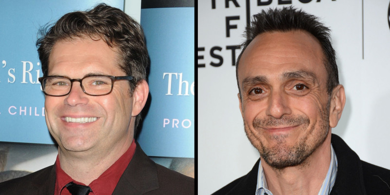 Hank Azaria and Dana Gould