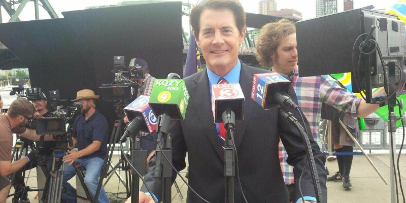 Kyle MacLachlan as Portlandia Mayor for Facebook Q&A