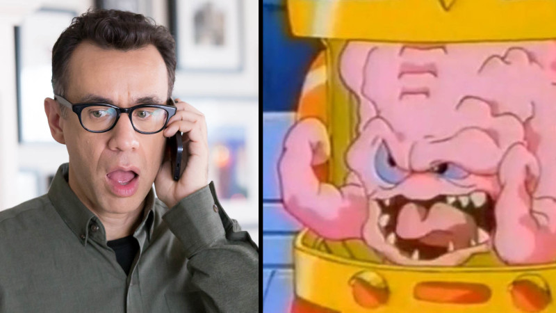Fred Armisen and Krang