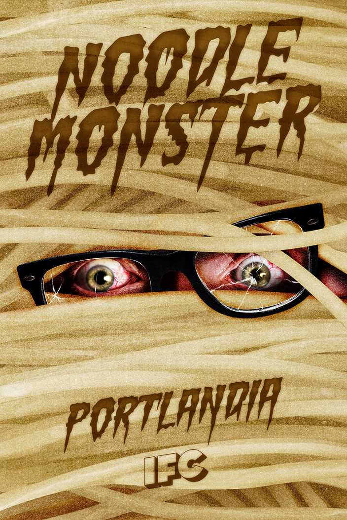 Noodle-moster-poster