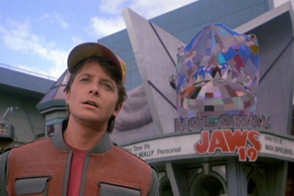 Back to the Future Jaws Parody