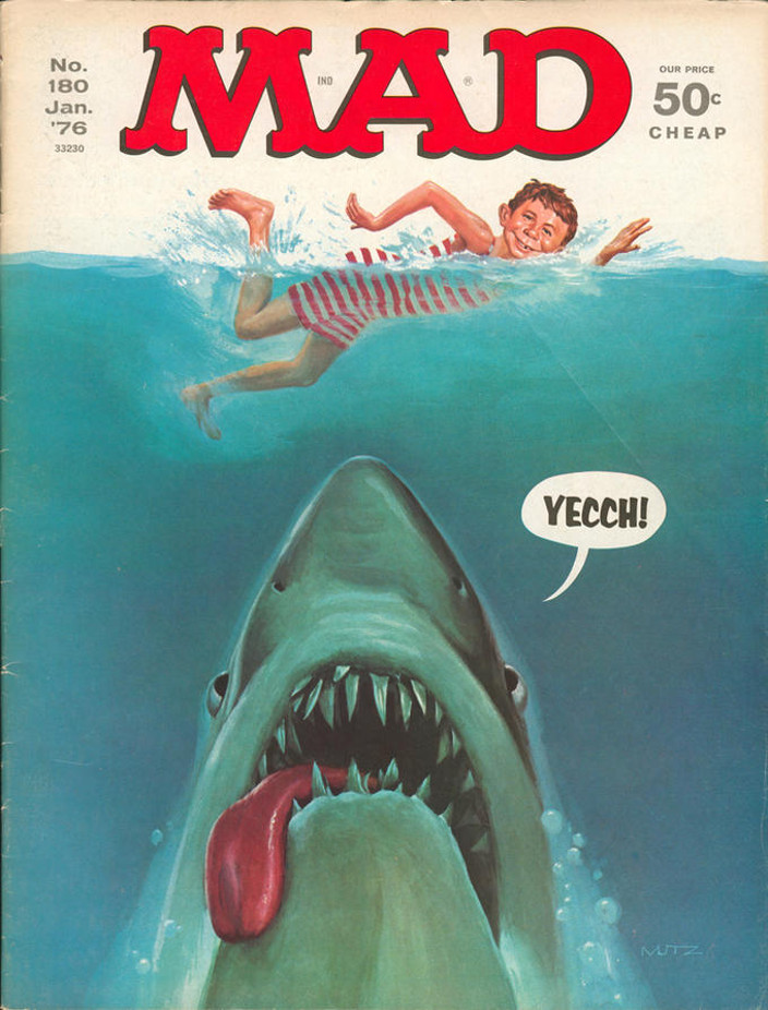 Mad Magazine Jaws