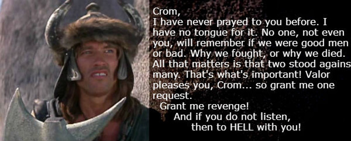 Prayer to Crom