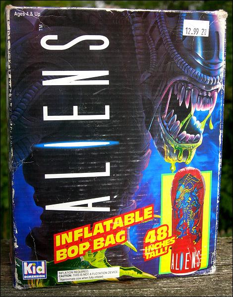 Alien Bop Bag