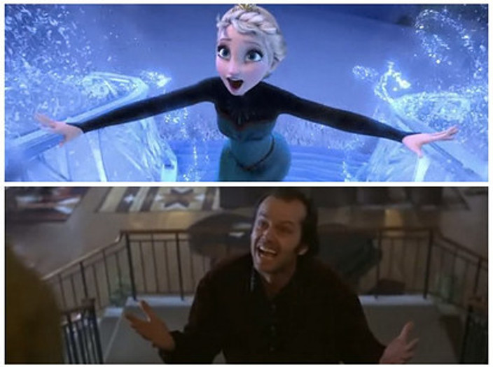The Shining Frozen