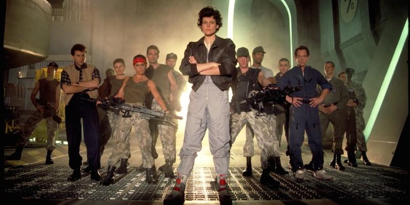 Aliens Cast Photo