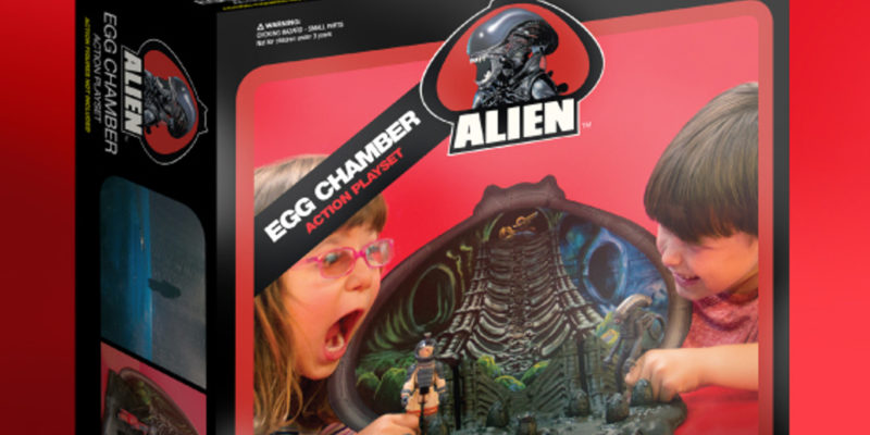 Alien Egg Chamber Playset