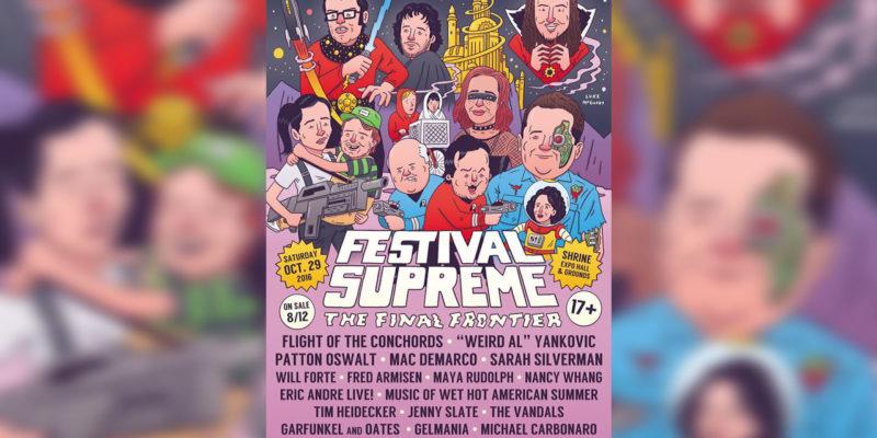 Festival Supreme Poster 2016