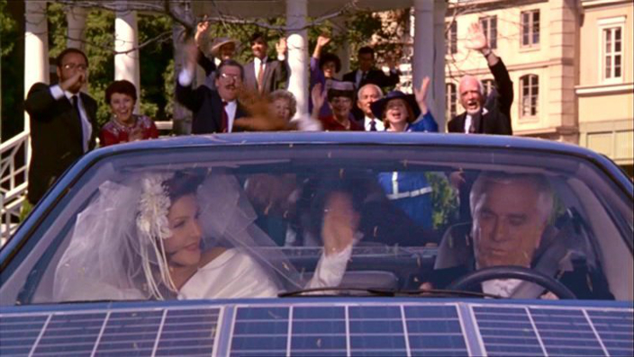 Naked Gun Wedding