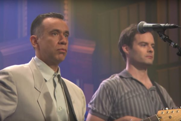 Fred Armisen Bill Hader Test Pattern on Late Night with Seth Meyers