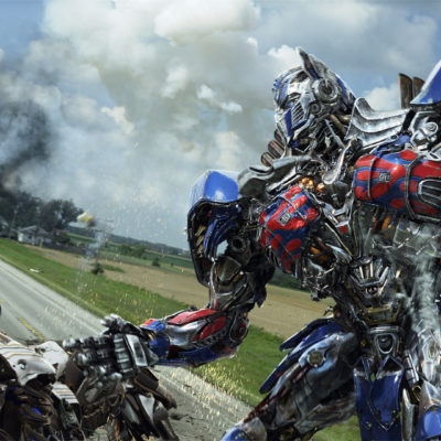 Optimus Prime in TRANSFORMERS: AGE OF EXTINCTION, from Paramount Pictures.