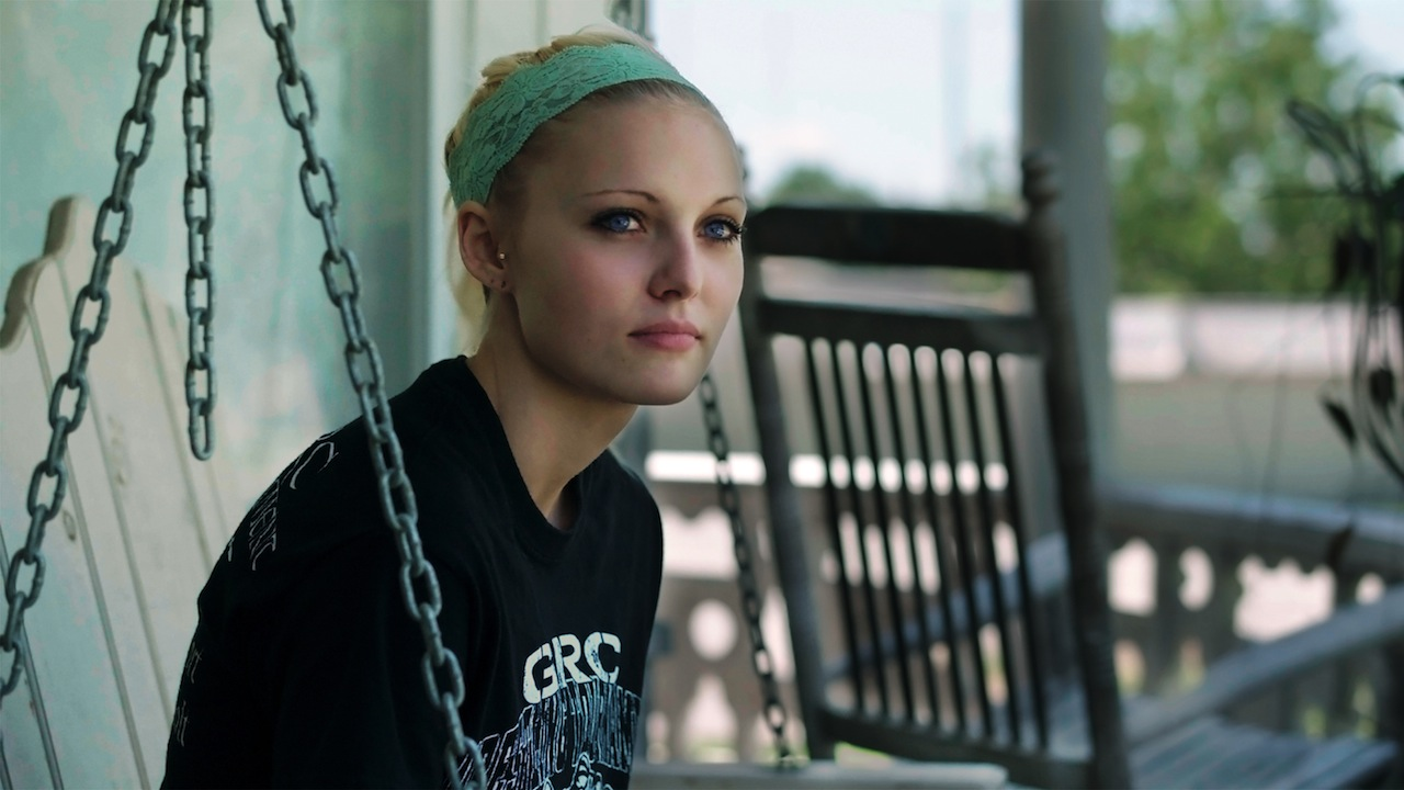 Audrie & Daisy. Daisy Coleman, shown. Photo credit: Jon Shenk/Actual Films