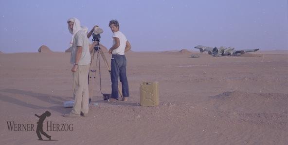 Gunter Freyse, Jörg Schmidt-Reitwein, Werner Herzog | Behind the scenes