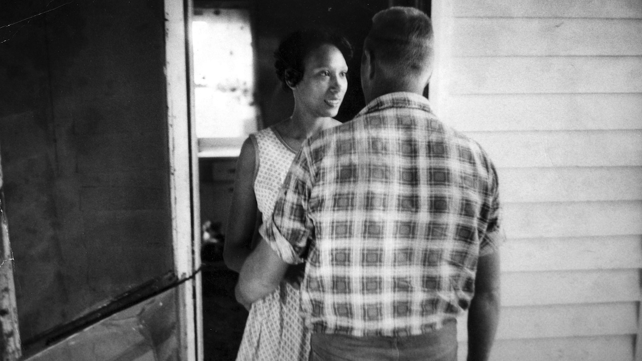 THE LOVING STORY Photo credit: Grey Villet Mildred and Richard Loving, circa 1965
