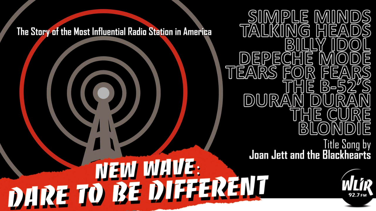 WLIR New Wave Dare to be Different
