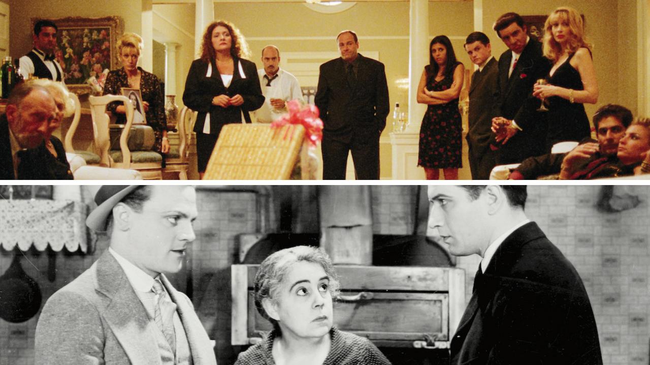 Sopranos image courtesy of HBO.