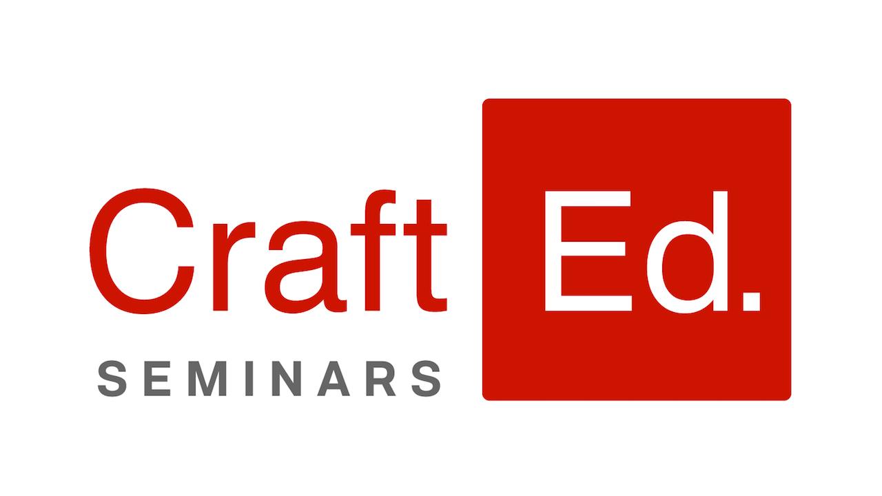 Craft Ed. Seminars Logo