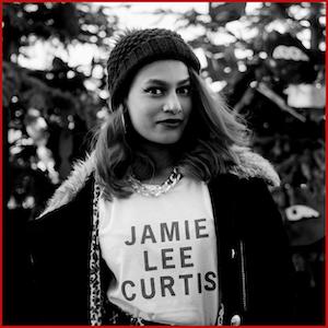 Jamie Lee Curtis-Black Text