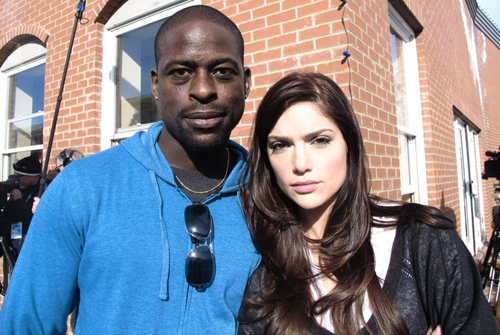 Sterling A. Brown and Janet Montgomery at Sundance Channel HQ