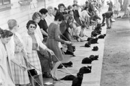 Black Cat open call, 1961