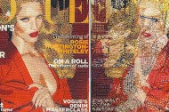 Stitched Vogue covers
