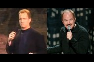 Vintage clips of Louis C.K.