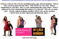 Open Casting Call for Sundance Channel's Original Series GIRLS WHO LIKE BOYS WHO LIKE BOYS!