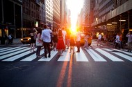 """Manhattanhenge"" goes down tonight at 8:16 p.m."