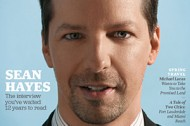 Sean Hayes comes out, d'oh!