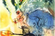 "Dali illustrates ""Alice in Wonderland"""