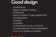 Dieter Rams on good design at Soho Phaidon