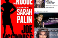 Do books ever change anything? And a note on Palin's print problem