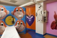 Jeff Koons' hospital room