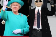 Karl Lagerfeld's next gig: Taking on Queen Elizabeth