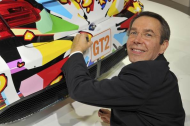 Jeff Koons debuts his BMW art car