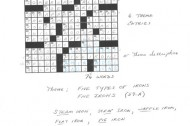 "How Will Shortz edits a ""New York Times"" crossword"