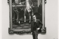 Woody Allen having fun at The Met