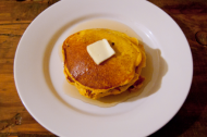 Breakfast for dinner: Fucking Pumpkin Chocolate Chip Pancakes