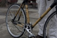 Riding a bamboo bike across America