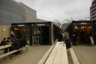 London's Boxpark: Trendy short-term retail space