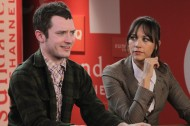 Elijah Wood, Rashida Jones, and Will McCormack stop by Sundance Channel HQ— Scoop the photos inside