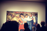 Opening night of Diego Rivera at MoMA