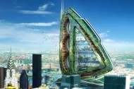 The vertical ecovillage: Vincent Callebaut's Dragonfly