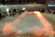 Cai Guo-Qiang's explosive new exhibit