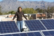 Gabby Giffords: Congress' voice for solar power