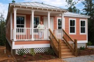 Katrina Cottages reused as permanent residential and commercial structures