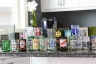 Recycle your bottles into glassware with the Kinkajou