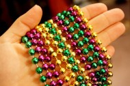 Green tech finds: Mardi Gras beads and that new car smell